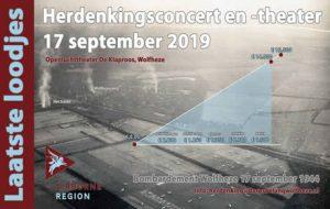 donatie herdenkingsconcert en theater 17 september 2019