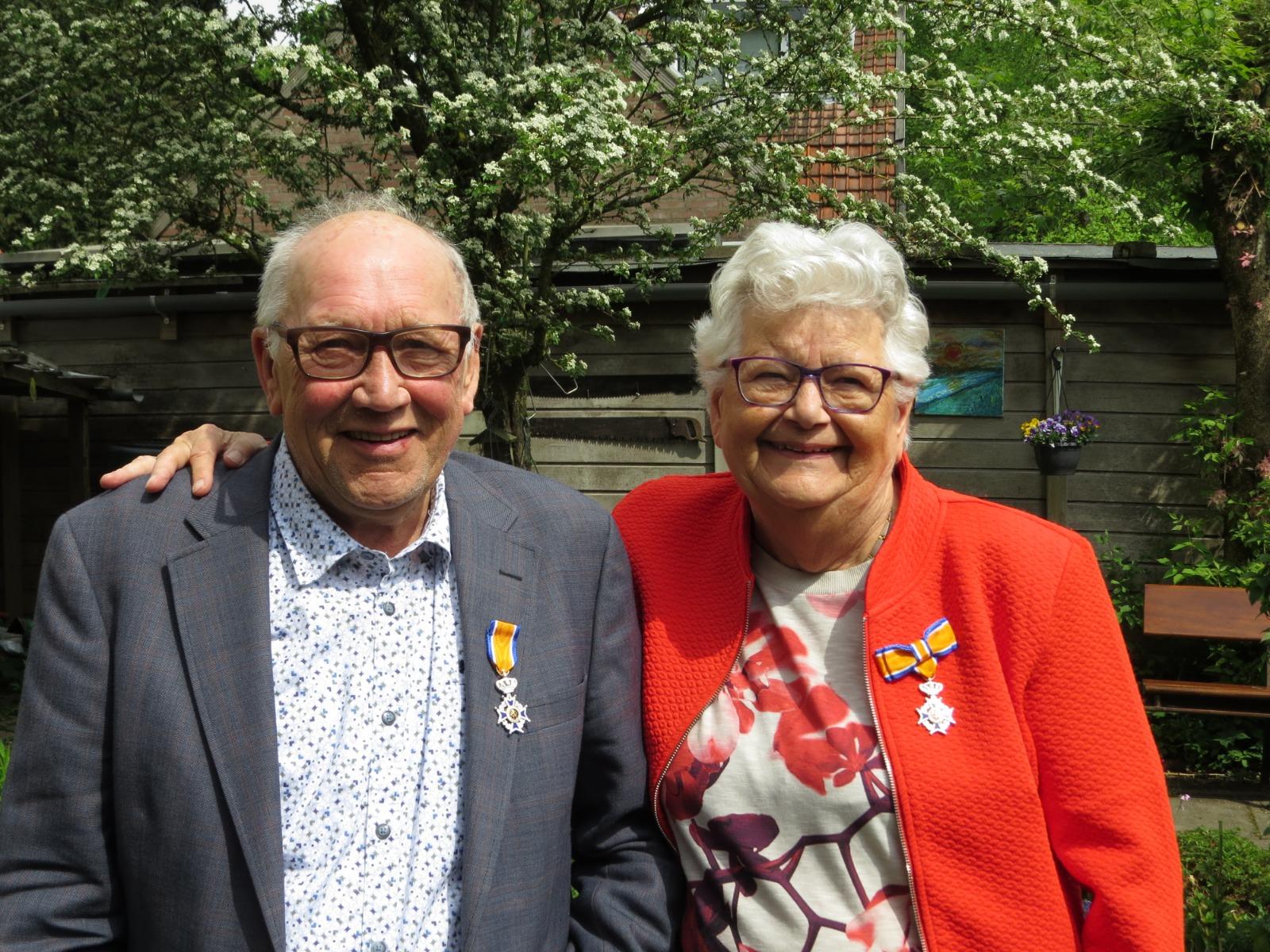 Koninklijke onderscheiding voor echtpaar Vonk
