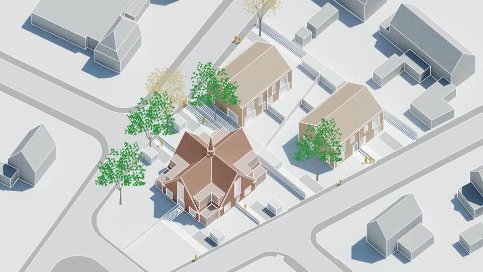 Schets invulling Open Hofkerk