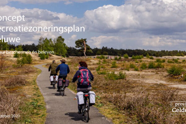 concept Recreatiezoneringsplan Veluwe oktober 2021